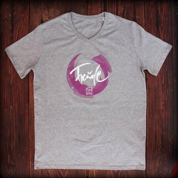 """T-Shirt """"Freude"""" Grau"""