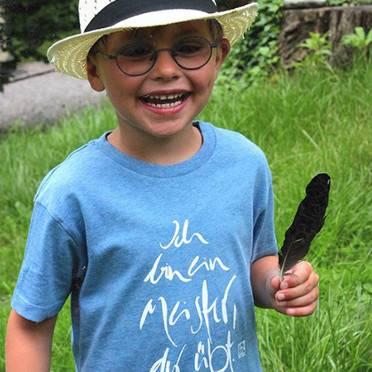 """T-Shirt """"Ich bin ein Meister, der übt"""" Jungs"""