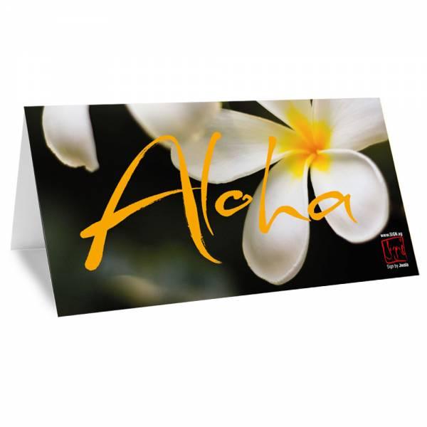 """Klappkarte """"Aloha"""""""