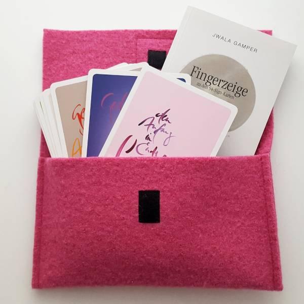 "SignKarten-Set ""Orient Pink"""