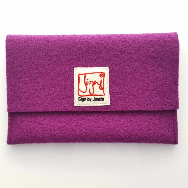 """SignKarten-Tasche """"Purple"""""""