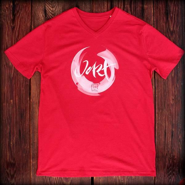 "T-Shirt ""Jetzt"" Rot"